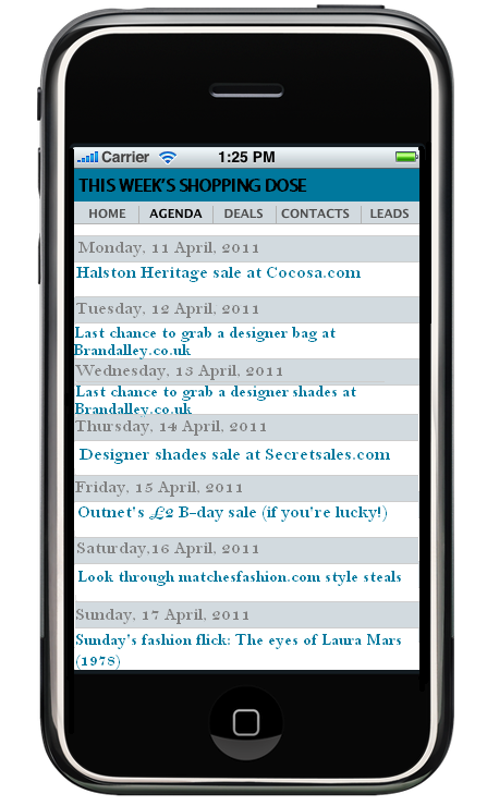 Agenda-SmartPhone