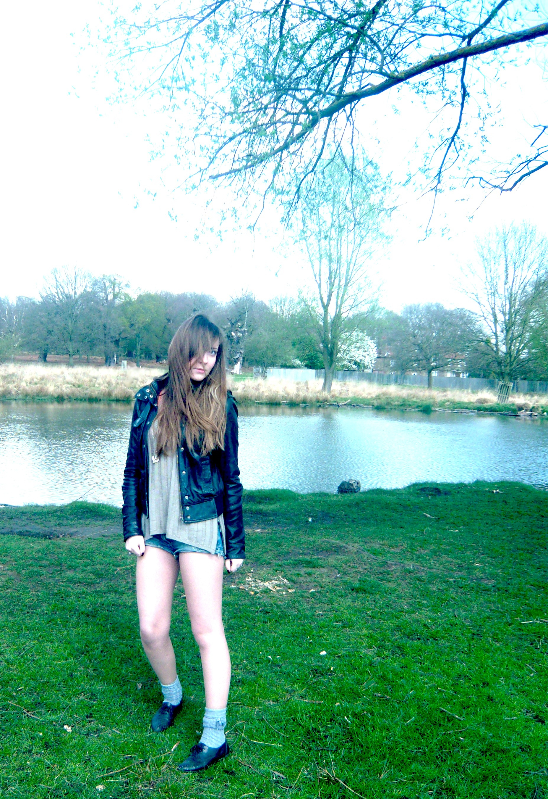 Edita Zara jacket, Twenty8Twelve jumper, Republic shorts, New look brogues