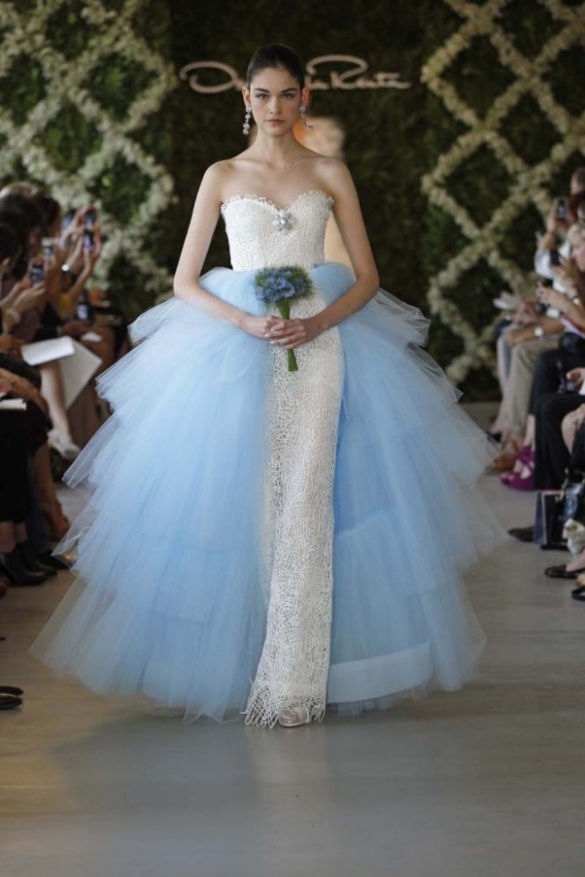 Oscar de la Renta New York Bridal Fashion Week Spring 2013 1