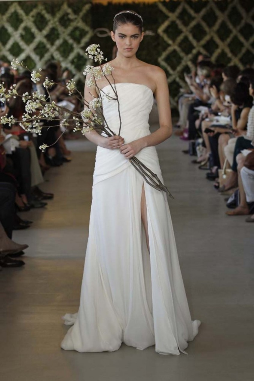 Oscar de la Renta New York Bridal Fashion Week Spring 2013