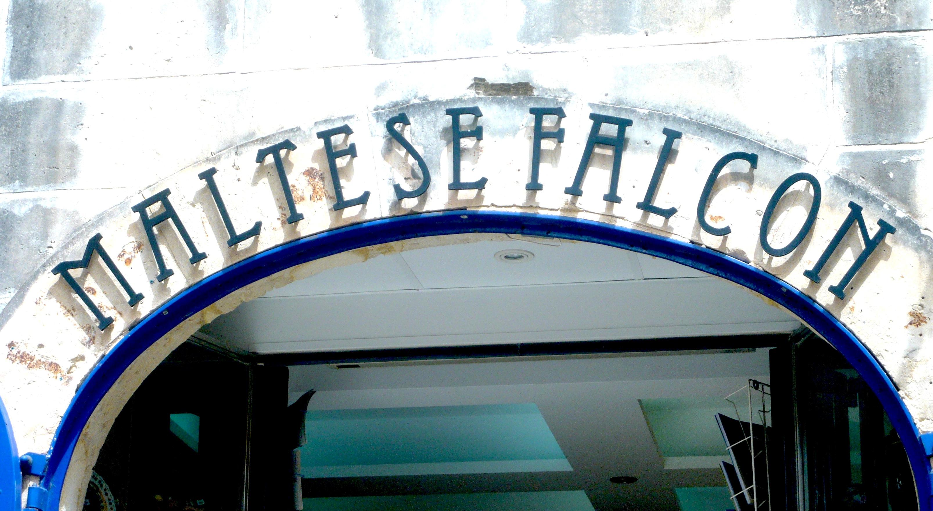 The Maltese falcon jewellery shop