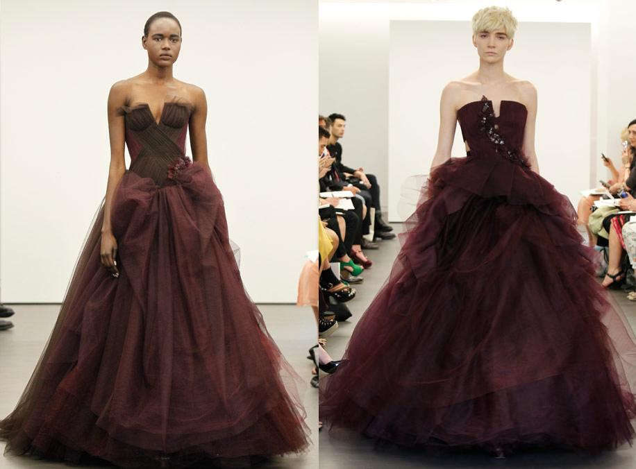 Vera Wang New York Bridal Fashion Week Spring 2013